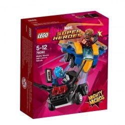 Lego Hero Factory - 76090 LEGO Super Heroes Mighty Micros Űrlord és Nebula összecsapása
