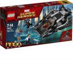 LEGO Marvel Super Heroes 76100 A fekete páncél harcos elleni támadás