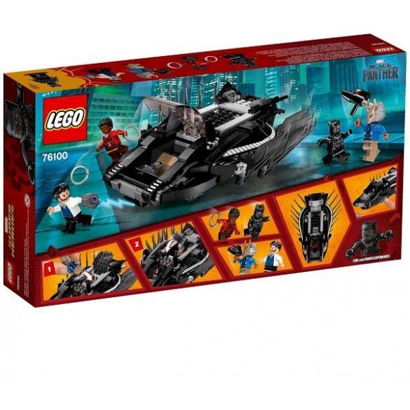 Lego Hero Factory - LEGO Marvel Super Heroes 76100 A fekete páncél harcos elleni támadás