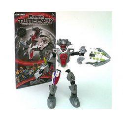 Szerepjátékok - Figurák - Earth Tutelary piros-kék-fekete robot