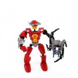 Fiús játékok - Earth Tutelary piros robot