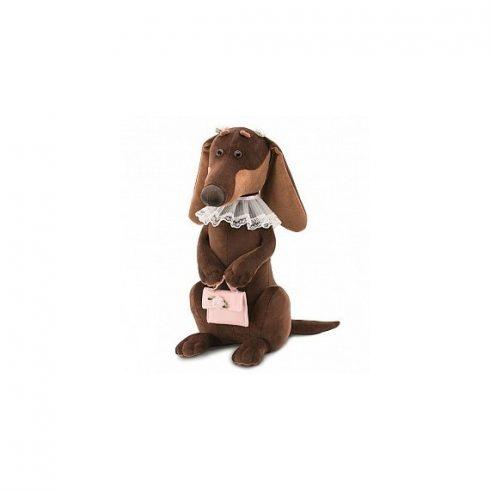 Plüss kutyák - Emma a tacskó plüss kutya, Orange Toys
