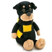 Plüss kutyák - Bax Rottweiler plüss kutya, Orange Toys