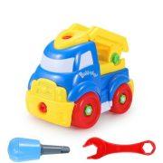 Szerelős játékok - Szerelős jármű kék