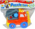 Fiús játékok - Szerelős jármű tűzoltóautó