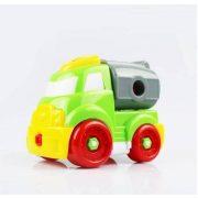 Szerelős játékok - Szerelős jármű zöld
