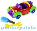 Szerelős játékok - Szerelhető autó színes