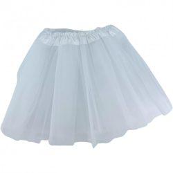 Jelmezek - Jelmez kiegészítők - Jelmez fehér tüllszoknya