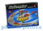 Építőjátékok - Fém építőjáték helikopter