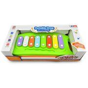 Játék hangszerek gyerekeknek - Xilofon babáknak színes műanyag Play and grow