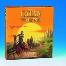 Társasjátékok - Catan Lovagok és városok stratégiai játék