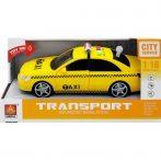 Játék autók - Autós játékok - Játékautó fénnyel és hanggal sárga TAXI