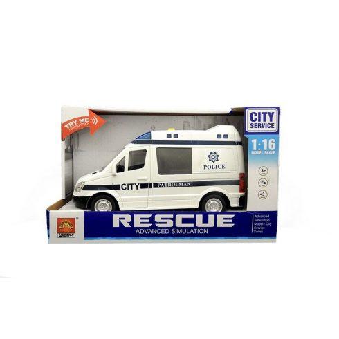 Játék autók - Autós játékok - Játék rendőrautó fénnyel és hanggal