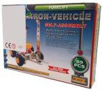 Építőjátékok gyerekeknek - Fém építő játéktargonca