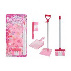 Szerepjátékok - Lányos játékok - Takarítószett, rózsaszín