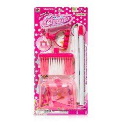 Szerepjátékok - Lányoknak - Takarító szett rózsaszín