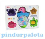 Fürdőjátékok - Delfines vízimalom babáknak