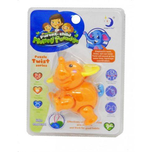 Foglalkoztató babáknak - Állatfigura elefánt