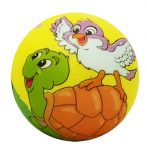 Kerti játékok - Labdák - Állatos labda 6 cm