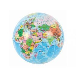 Kerti játékok - Labdák - Földgömbös labda, 6 cm