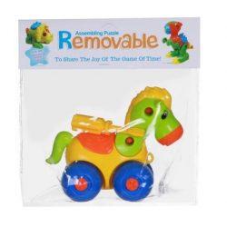 Pónis játékok - Összecsavarozható gurulós lovacska