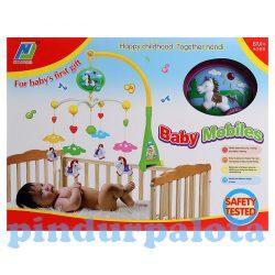 Zenélő bébijátékok - Ajándékok babáknak - Zenélő ágyfölé