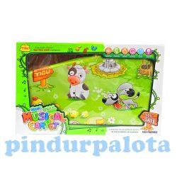 Zenélő bébijátékok - Ajándékok babáknak - Zenélő bébi szőnyeg