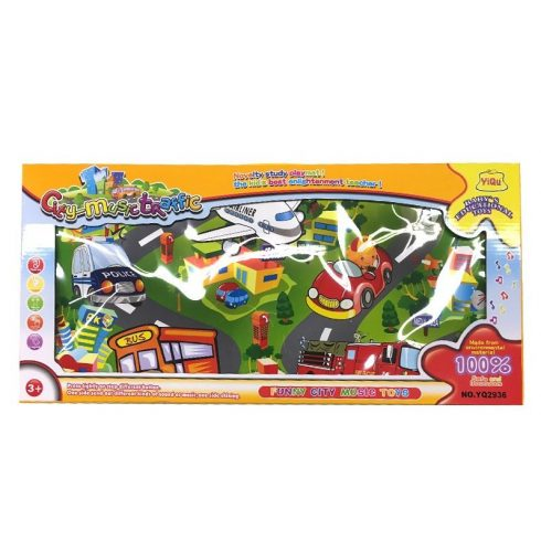 Bébijátékok - Zenélő játékok - Zenélő játékszőnyeg