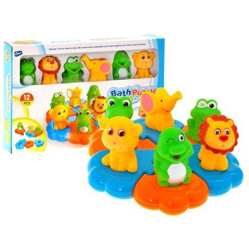 Pancsolós játékok - Fürdetős játékok babáknak - Állatfigurás spriccelős fürdőjáték gyerekeknek