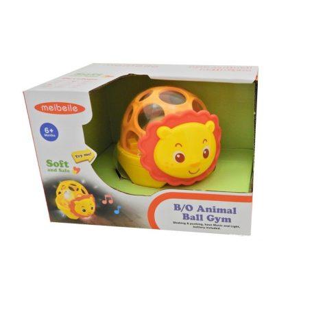 Fejlesztő játékok - Bébi játékok - Készségfejlesztő oroszlános gömblabda
