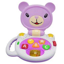 Interaktív játékok gyerekeknek - Zenélő macis fejlesztő játék Bonnie