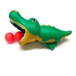 Ügyességi játékok - Labdakilövő krokodilos