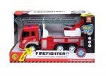 Műanyag járművek - Tűzoltóautó funkciós