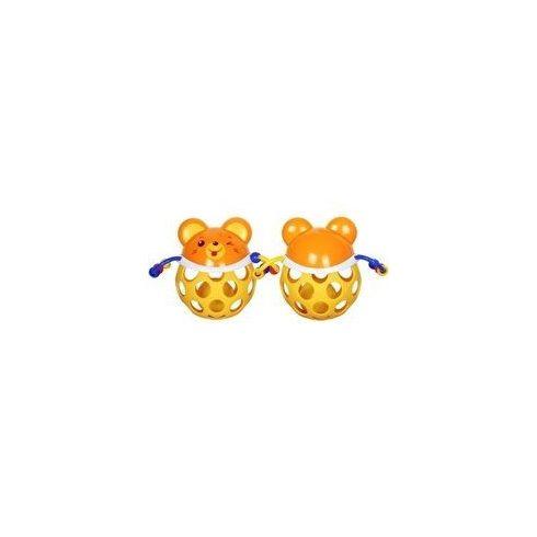 Csörgők kisbabáknak - Bébi készségfejlesztő csörgő egér sárga