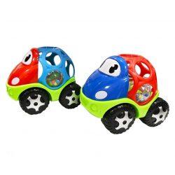 Csörgők kisbabáknak - Bébi autó - csörgős labdával