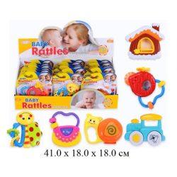 Csörgők kisbabáknak - Csörgős játék babáknak