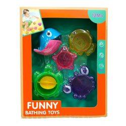 Pancsolós játékok - Delfines vizimalom