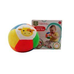 Csörgők kisbabáknak - Bébi színes csörgős plüss labda