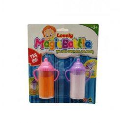 Játék kellékek babázáshoz - Cumisüveg folyadékkal 2 db-os