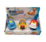 Pancsolós játékok - Fürdetős játékok babáknak - Spriccelős fürdős vízi jármű figurák
