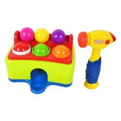 Zenélő bébijátékok - Készségfejlesztő babáknak zenélő kalapáló játék