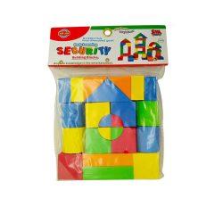 Építőjátékok gyerekeknek - Fából, Fémből, Műanyagból - Puha szivacsos építőkocka 25 db-os