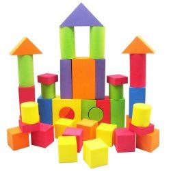 Építőkockák - Puha szivacsos építőkocka