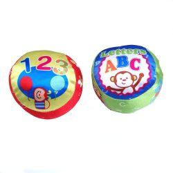 Labdák - Játékok gyerekeknek - Bébi puha állatos plüss labda