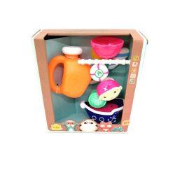 Pancsolós játékok - Fürdetős játékok babáknak - Fürdőjáték kannával hajós
