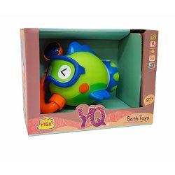 Pancsolós játékok - Fürdetős játékok babáknak - Fürdőjáték halacskás zuhanyzóra húzható