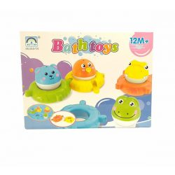 Pancsolós játékok - Fürdetős játékok babáknak - Fürdőjáték kirakós állatos