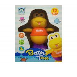 Pancsolós játékok - Fürdetős játékok babáknak - Fürdőjáték békás