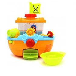 Fürdetős játékok babáknak - Fürdőjáték hajós kalózzal