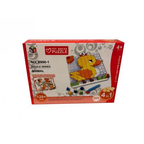 Ügyességi játékok - Kirakós játék kacsás 128 db-os